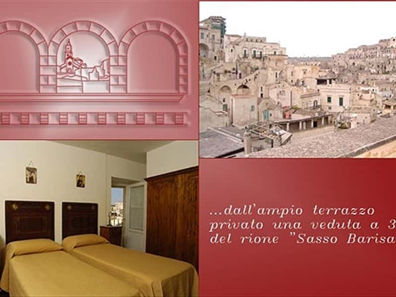 Matera Bed Collection Bed And Breakfast Holiday Guest House Accommodation Appartments Matera