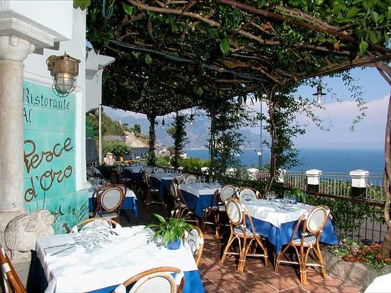 Restaurant al pesce d 39 oro amalfi coast restaurants in for Amalfi coast cuisine