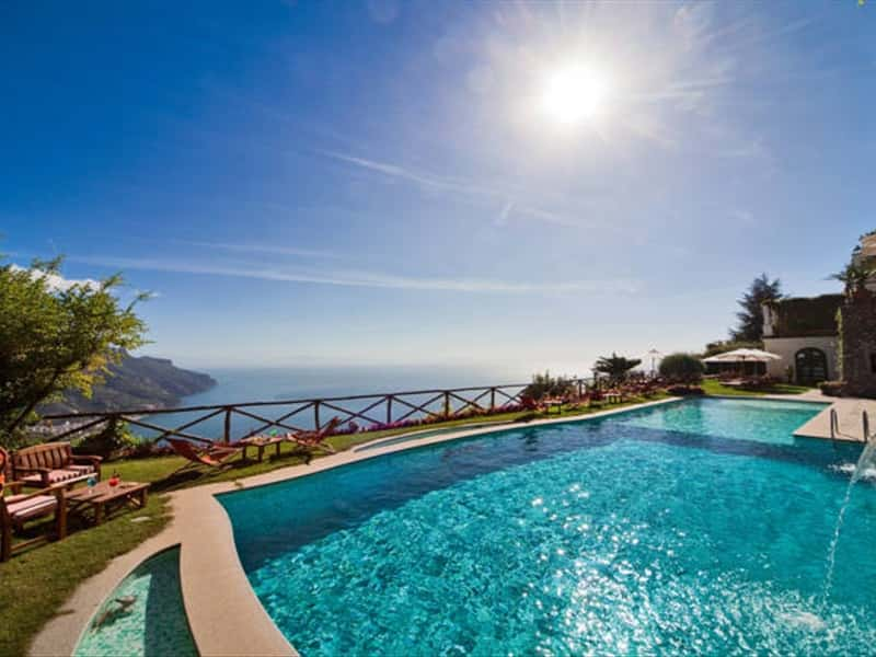 Palazzo avino boutique design hotel in ravello amalfi for Hotels in ravello with swimming pool